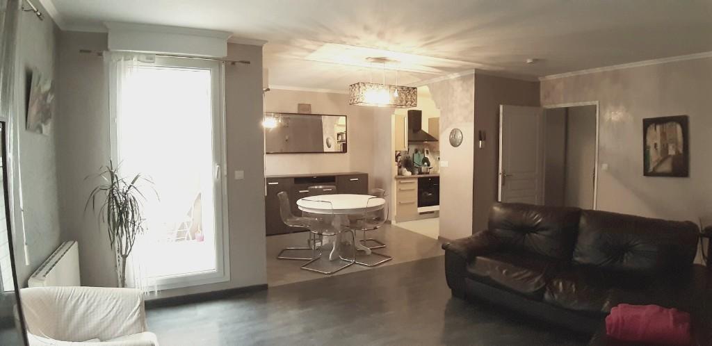 Vente maison 59120 Loos - LOOS -maison atypique récente en duplex inversé avec garage