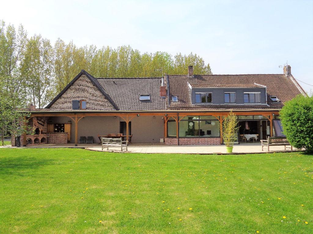 Vente maison 62136 Lestrem - Magnifique propriété de 520m2 habitables!