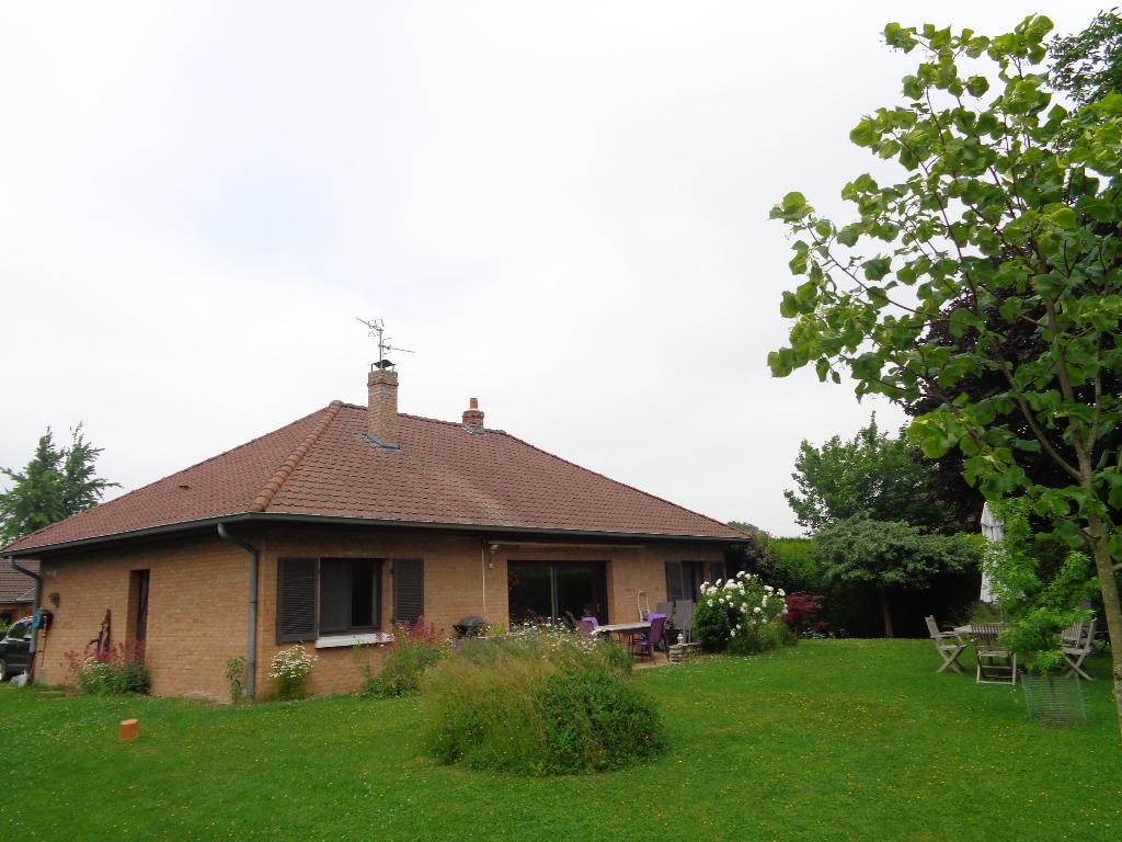 Vente maison 59134 Fournes en weppes - Plain pied individuel 3 chambres