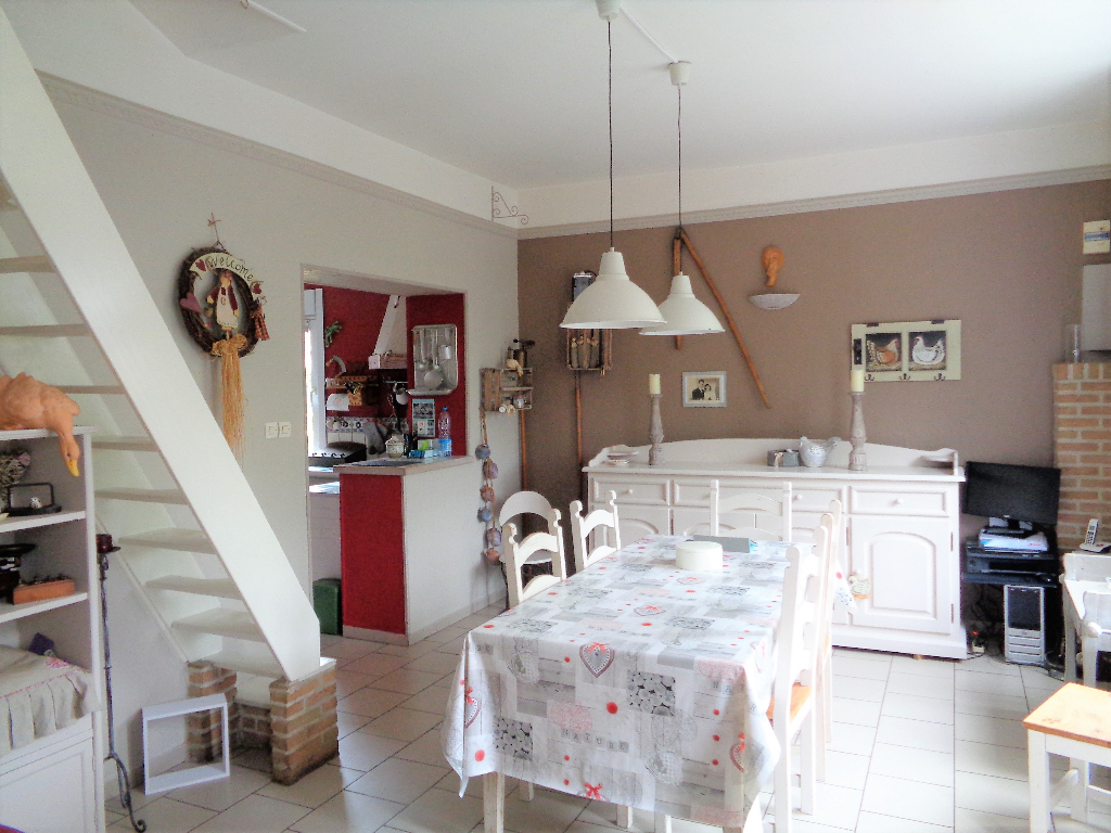 Vente maison 62136 La couture - Ensemble immobilier Maison individuelle de caractère+ entrepôt