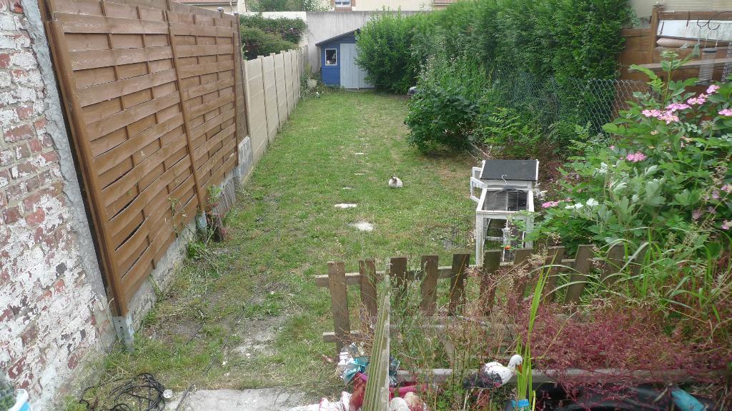HAUBOURDIN 59320 maison 1930 avec jardin