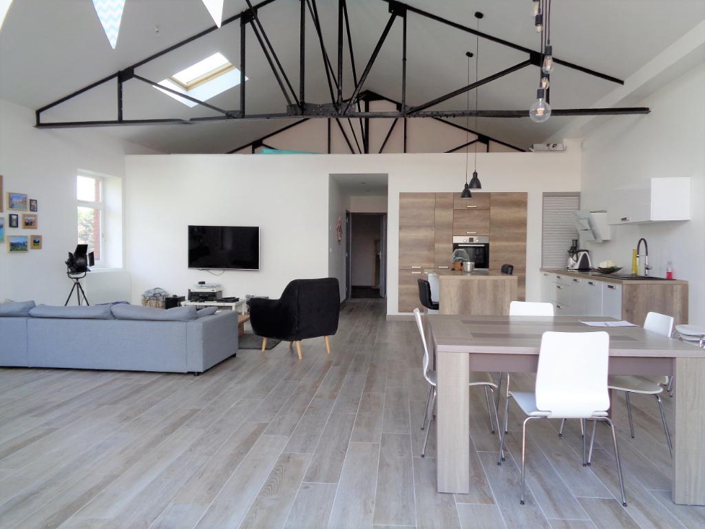 Vente appartement 59211 Santes - Magnifique loft de 2016  3 chambres sur Wavrin!