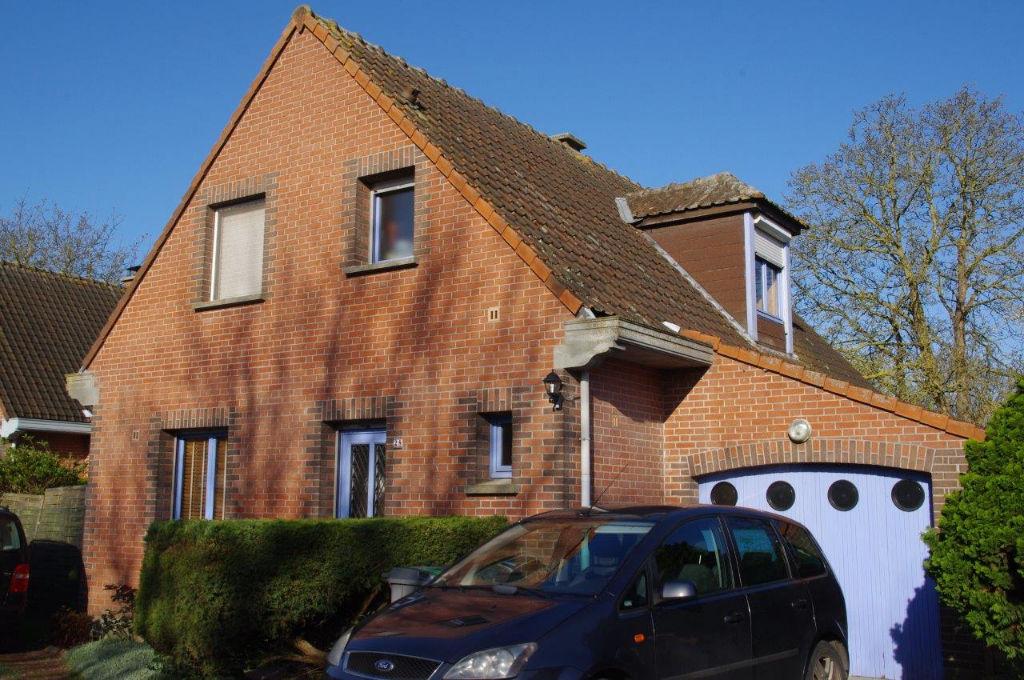 Maison individuelle 3 chambres + bureau Wavrin 90m2-TT231