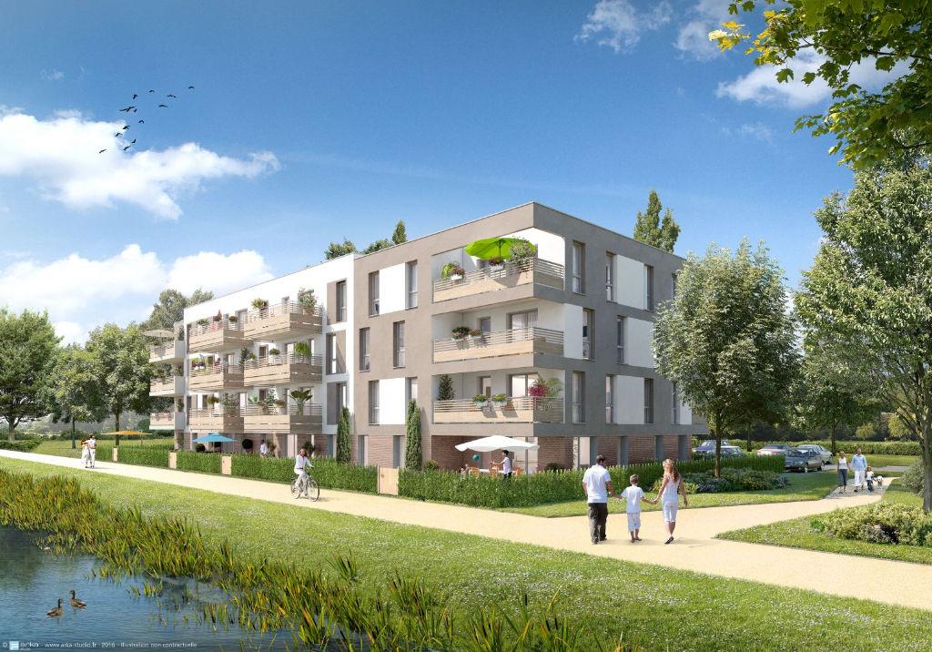 Appartement Sainghin En Weppes 2 pièce(s) 50.7 m2