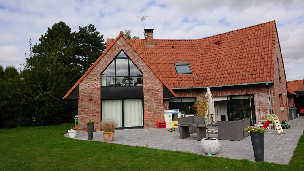 Vente maison 59320 Ennetieres en weppes - Proximié Englos magnifique villa individuelle contemporaine/2000m²